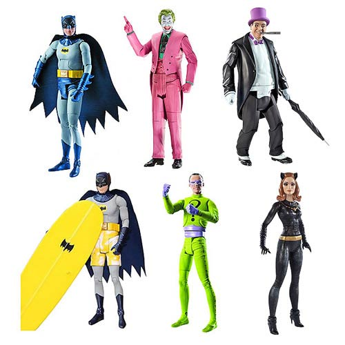 Batman Classics 1966 TV Series Wave 3 Revision 1 Figure Case