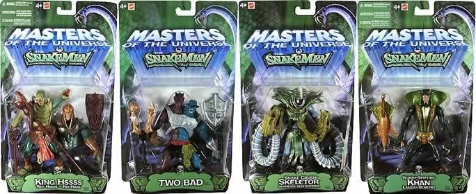 He-Man Snake Men Evil Asst. 2