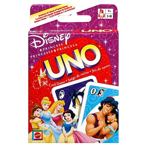 Disney Princess UNO Card Game