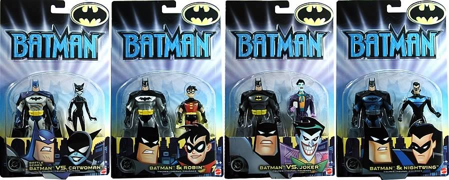 Batman Animated 2-Packs