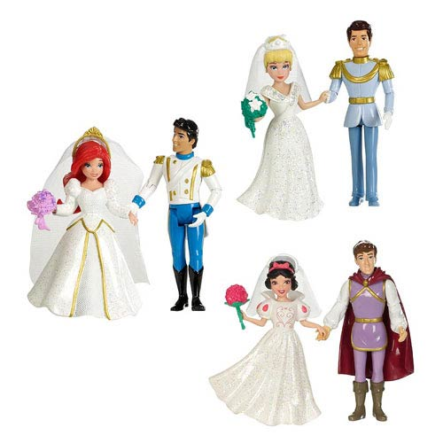 Disney Princesses Fairytale Wedding Doll Case