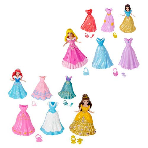Disney Princesses MagiClip Fashion Doll Giftset