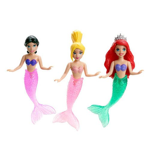 Disney Little Mermaid Ariel and Sisters Doll 3-Pack