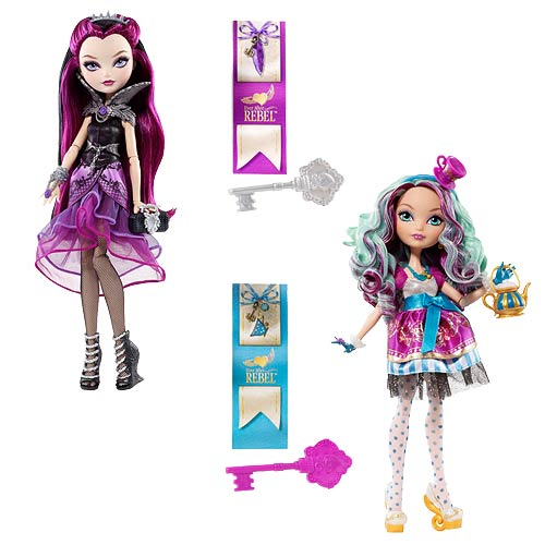 Ever After High Rebel Dolls Raven and Madeline Set