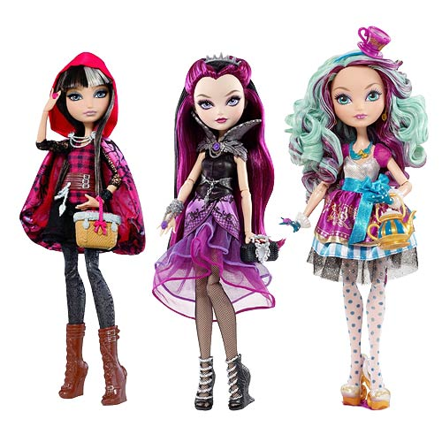 Ever After High Rebel Dolls Case