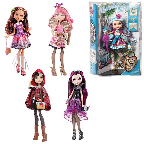 Ever After High Rebel Dolls Wave 2 Case