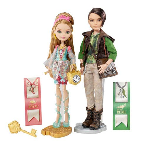 Ever After High Ashlynn and Hunter Dolls 2-Pack