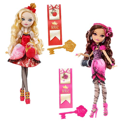 Ever After High Royal Dolls Wave 1 Revision 2 Case