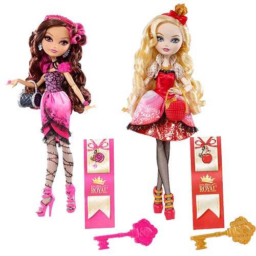 Ever After High Royal Dolls Case