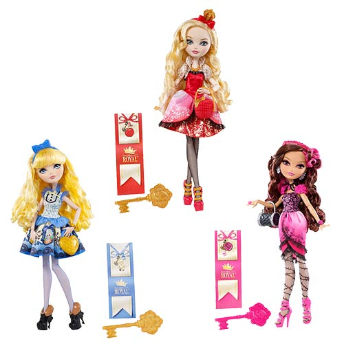 Ever After High Royal Dolls Wave 2 Set