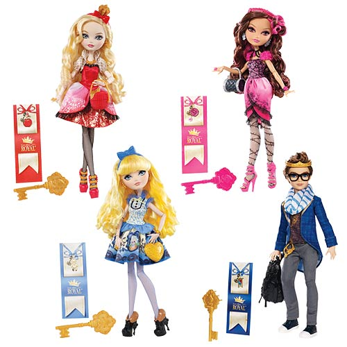Ever After High Royal Dolls Wave 3 Case