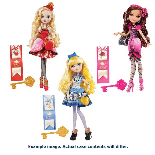 Ever After High Royal Dolls Wave 4 Case