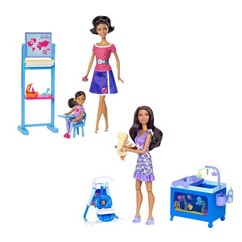 Barbie African American I Can Be Doll Playset Case