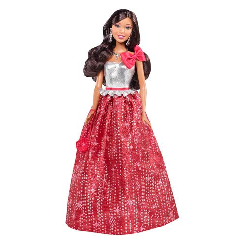 Barbie Holiday Wishes 2013 African American Doll