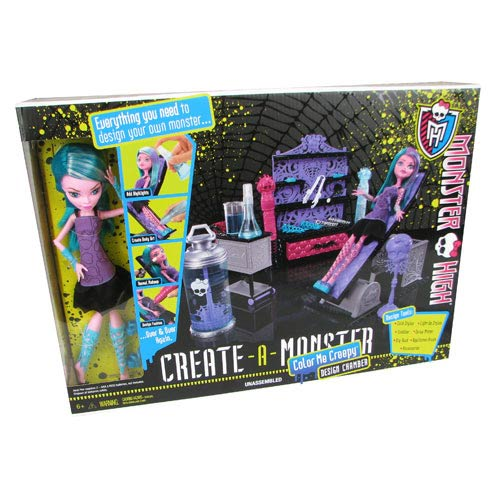 Monster High Create-a-Monster Design Chamber Playset