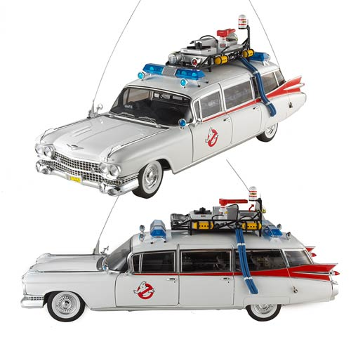Ghostbusters Ecto-1 Hot Wheels Heritage Die-Cast Vehicle