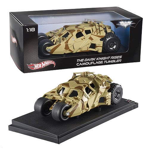 Batman Dark Knight Rises Camo Tumbler Hot Wheels Heritage