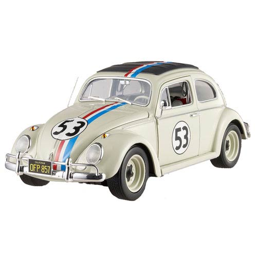 Herbie the Love Bug Elite 1:18 Scale Die-Cast 1962 VW Bug