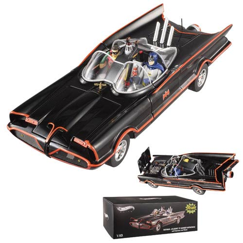 Batman Elite One 1966 1:18 Scale Die-Cast Batmobile