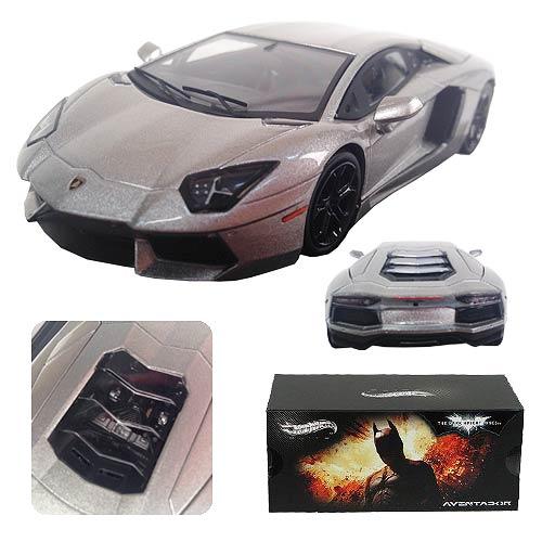 Batman Dark Knight Rises Lamborghini Aventador Hot Wheels
