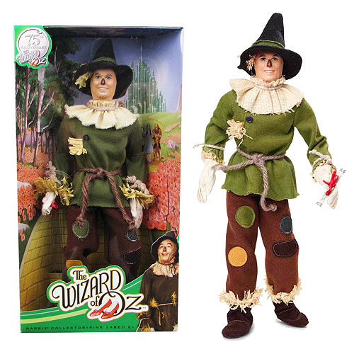 Wizard of Oz Scarecrow Barbie Doll