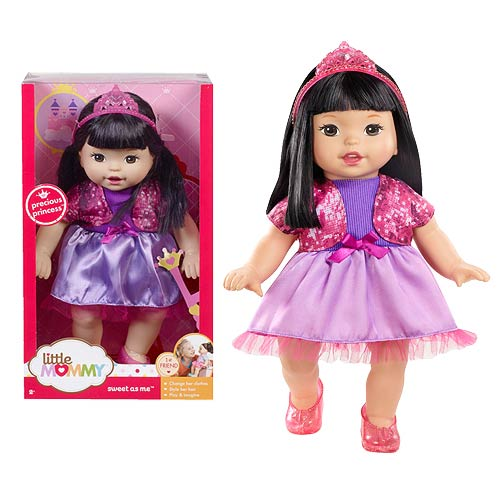 Little Mommy Sweet As Me Precious Princess Hispanic Doll
