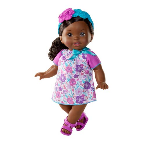 Little Mommy Sweet As Me Floral African American Doll