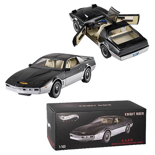 Knight Rider Elite K.A.R.R. 1:18 Scale Die-Cast Vehicle