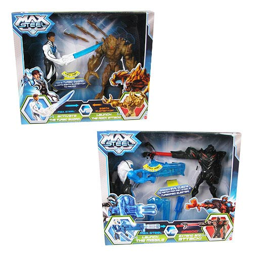 Max Steel Battle Pack Action Figure Case