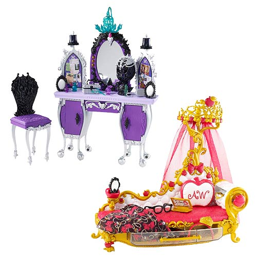 Ever After High Getting Fairest Dolls Playset Case
