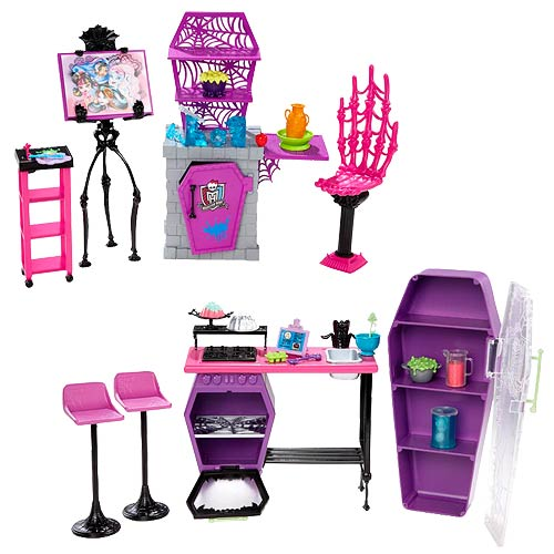 Monster High School Playsets Case