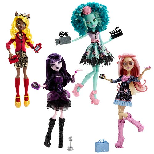 Monster High Frights, Camera, Action Dolls Case