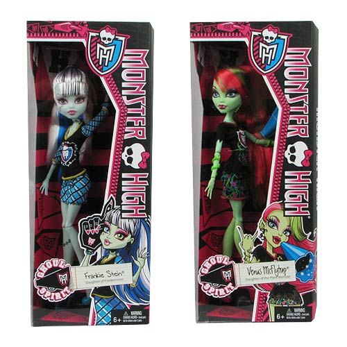Monster High Ghoul Spirit Dolls Case