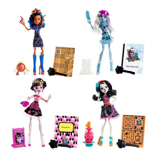 Monster High Art Class Dolls Wave 1 Revision 1 Case
