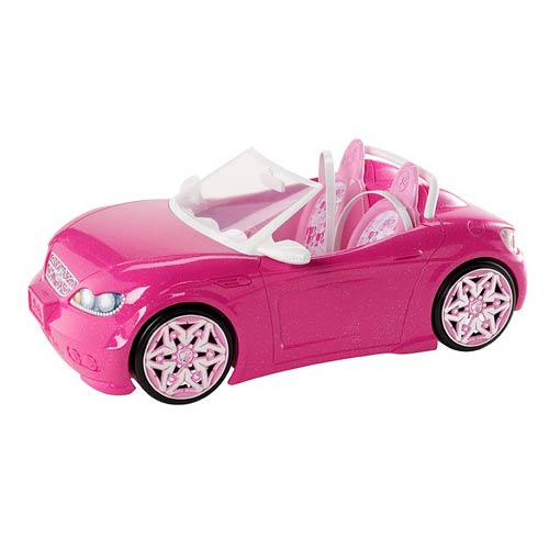 Barbie Glam Pink Convertible Vehicle