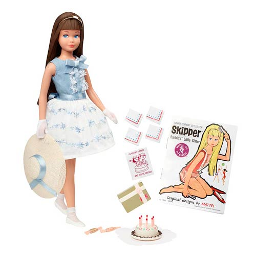 Barbie 50th Anniversary Brunette Skipper Doll