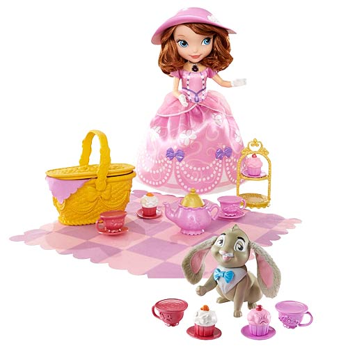 Sofia the First 10-Inch Doll and Picnic Playset