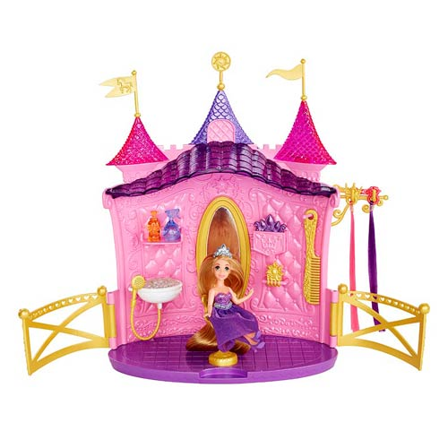 Disney Tangled Rapunzel's Castle Hair Salon Playset