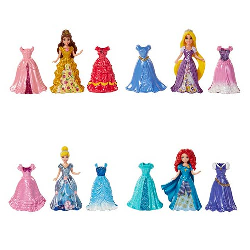 Disney Princesses Little Kingdom MagiClip Fashion Dolls