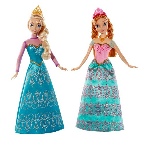 Frozen Disney Princess Sisters Royal Ball Dolls Pack