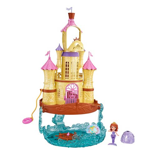 Sofia the First 2-in-1 Vacation Palace Playset