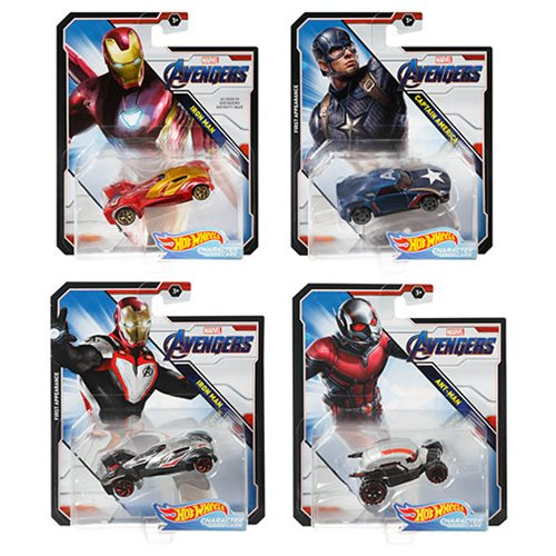 Hot Wheels Marvel Character Cars 1:64 Scale 2019 Wv. 3 Case