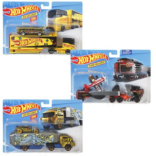 Hot Wheels Super Hauling Rig and Car 2019 Mix 3 Case