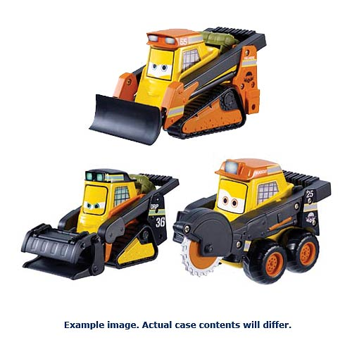 Planes Fire and Rescue Smoke Jumpers Vehicles Case