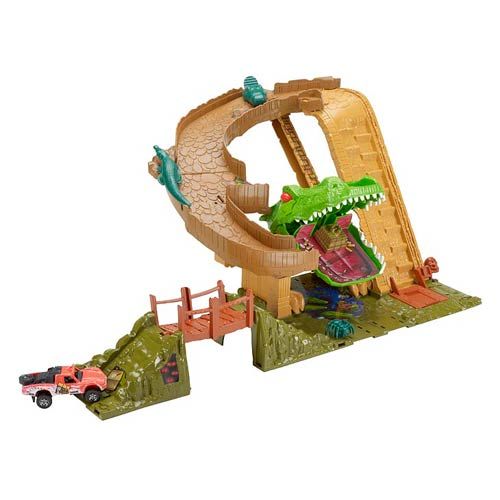 Matchbox Croc Attack Playset