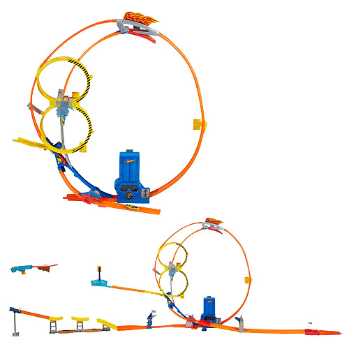 Hot Wheels Super Loop Chase Raceway Playset