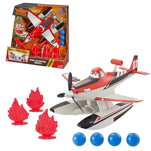 Planes Fire and Rescue Blitz Blast Dusty Vehicle