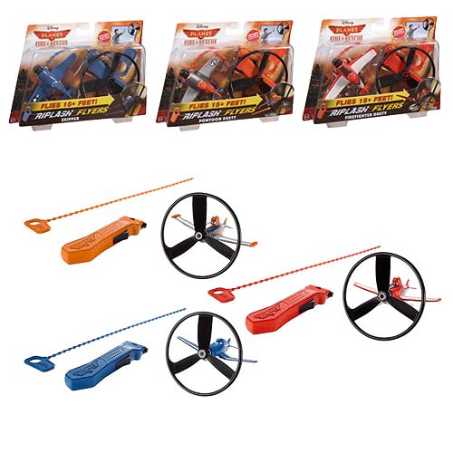 Planes Fire and Rescue Rip Lash Vehicles Case