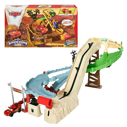 Cars Radiator Springs 500 Off-Road Rally Race Playset