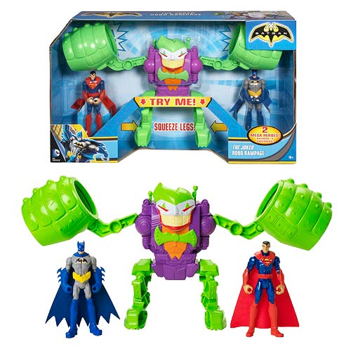 Batman The Joker Robo Rampage Action Figure Set